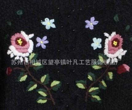 订购手工绣花的需求点